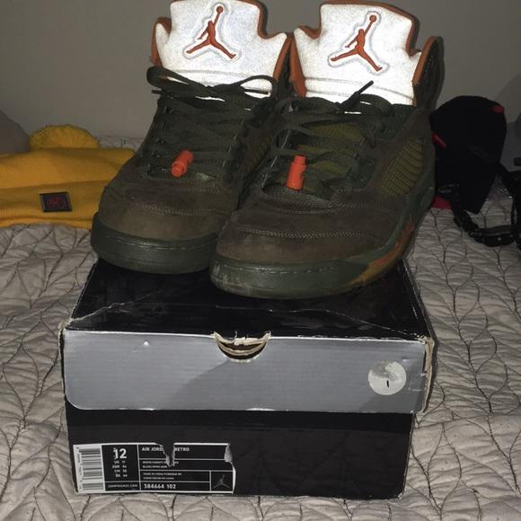 official photos 1e454 c4ea0 Jordan 5 Olive Retro Size 12